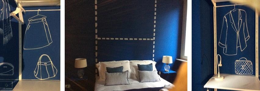 decorazione d'interni B&B concept